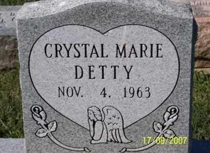 DETTY, CRYSTAL MARIE - Ross County, Ohio   CRYSTAL MARIE DETTY - Ohio Gravestone Photos