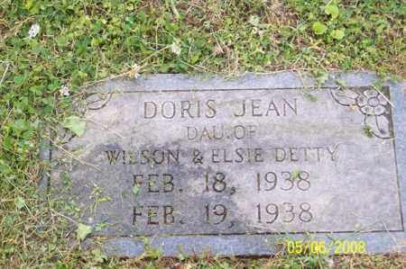 DETTY, DORIS JEAN - Ross County, Ohio | DORIS JEAN DETTY - Ohio Gravestone Photos