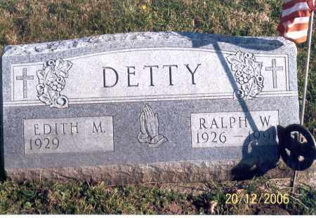 MOSS DETTY, EDITH - Ross County, Ohio | EDITH MOSS DETTY - Ohio Gravestone Photos
