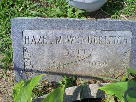DETTY, HAZEL M. - Ross County, Ohio | HAZEL M. DETTY - Ohio Gravestone Photos