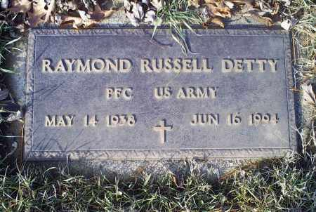 DETTY, RAYMOND RUSSELL - Ross County, Ohio | RAYMOND RUSSELL DETTY - Ohio Gravestone Photos