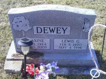 DEWEY, LEWIS G. - Ross County, Ohio | LEWIS G. DEWEY - Ohio Gravestone Photos