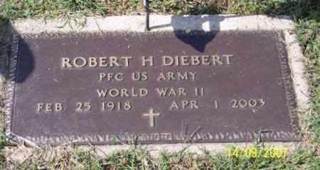 DIEBERT, ROBERT H. - Ross County, Ohio | ROBERT H. DIEBERT - Ohio Gravestone Photos
