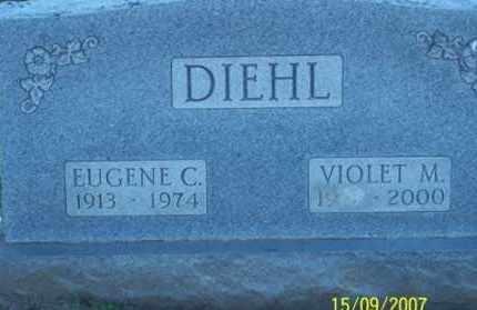 DIEHL, EUGENE C. - Ross County, Ohio | EUGENE C. DIEHL - Ohio Gravestone Photos