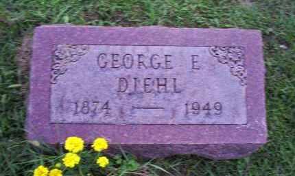 DIEHL, GEORGE E. - Ross County, Ohio | GEORGE E. DIEHL - Ohio Gravestone Photos