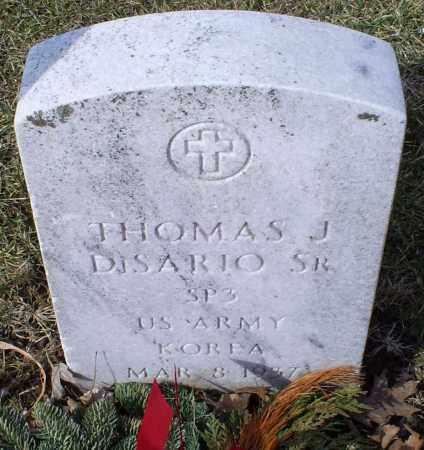 DISARIO, THOMAS J. SR. - Ross County, Ohio | THOMAS J. SR. DISARIO - Ohio Gravestone Photos
