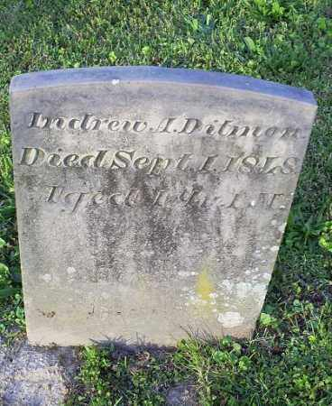 DITMON, ANDREW A. - Ross County, Ohio | ANDREW A. DITMON - Ohio Gravestone Photos