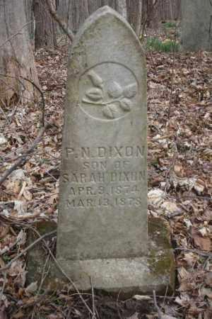 DIXON, P. N. - Ross County, Ohio | P. N. DIXON - Ohio Gravestone Photos