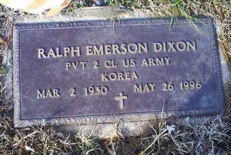 DIXON, RALPH EMERSON - Ross County, Ohio | RALPH EMERSON DIXON - Ohio Gravestone Photos