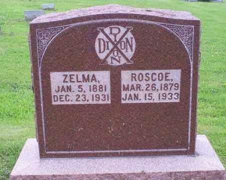 DIXON, ROSCOE - Ross County, Ohio   ROSCOE DIXON - Ohio Gravestone Photos