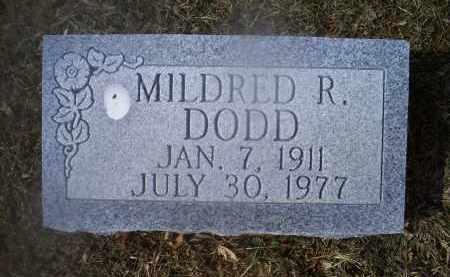 DODD, MILDRED R. - Ross County, Ohio | MILDRED R. DODD - Ohio Gravestone Photos