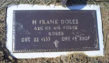 DOLES, H. FRANK - Ross County, Ohio | H. FRANK DOLES - Ohio Gravestone Photos