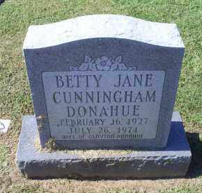 CUNNINGHAM DONAHUE, BETTY JANE - Ross County, Ohio | BETTY JANE CUNNINGHAM DONAHUE - Ohio Gravestone Photos