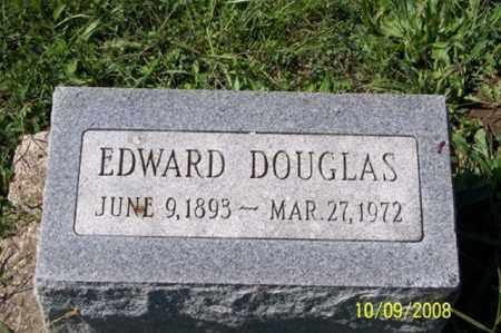 DOUGLAS, EDWARD - Ross County, Ohio | EDWARD DOUGLAS - Ohio Gravestone Photos