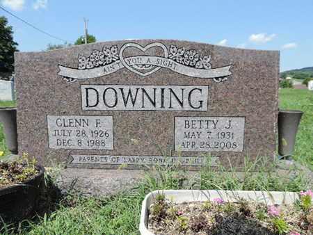 DOWNING, BETTY J - Ross County, Ohio   BETTY J DOWNING - Ohio Gravestone Photos