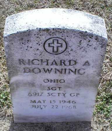 DOWNING, RICHARD A. - Ross County, Ohio | RICHARD A. DOWNING - Ohio Gravestone Photos