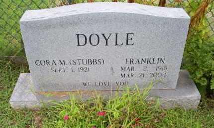 DOYLE, FRANKLIN - Ross County, Ohio   FRANKLIN DOYLE - Ohio Gravestone Photos