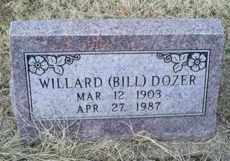 DOZER, WILLARD (BILL) - Ross County, Ohio | WILLARD (BILL) DOZER - Ohio Gravestone Photos
