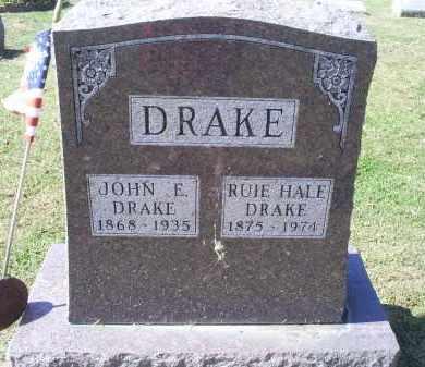 DRAKE, RUIE - Ross County, Ohio | RUIE DRAKE - Ohio Gravestone Photos