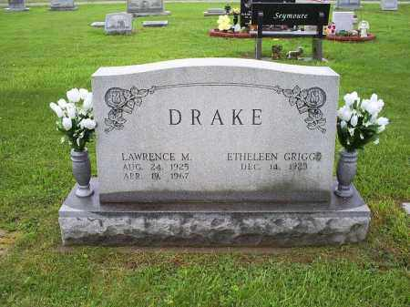 DRAKE, LAWRENCE M. - Ross County, Ohio | LAWRENCE M. DRAKE - Ohio Gravestone Photos