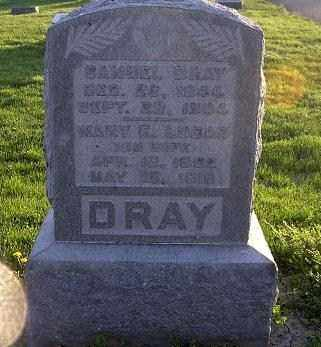 DRAY, MARY ELIZABETH - Ross County, Ohio | MARY ELIZABETH DRAY - Ohio Gravestone Photos