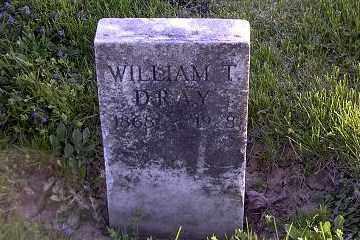 DRAY, WILLIAM TECUMSEH - Ross County, Ohio | WILLIAM TECUMSEH DRAY - Ohio Gravestone Photos