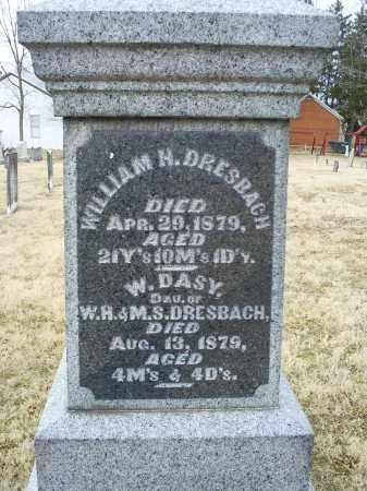DRESBACH, W. DASY - Ross County, Ohio | W. DASY DRESBACH - Ohio Gravestone Photos