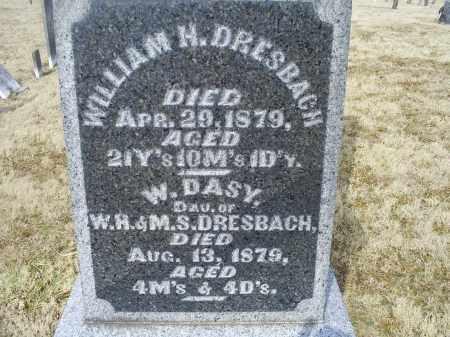 DRESBACH, WILLIAM H. - Ross County, Ohio | WILLIAM H. DRESBACH - Ohio Gravestone Photos