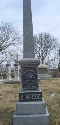 DRESBACH, ELIZABETH - Ross County, Ohio   ELIZABETH DRESBACH - Ohio Gravestone Photos