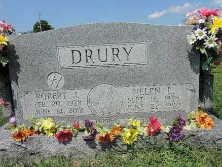 DRURY, HELEN L - Ross County, Ohio | HELEN L DRURY - Ohio Gravestone Photos