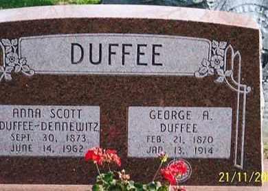 DUFFEE, ANNA - Ross County, Ohio | ANNA DUFFEE - Ohio Gravestone Photos