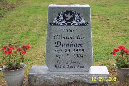 "DUNHAM, CLINTON IRA  ""CLINT"" - Ross County, Ohio   CLINTON IRA  ""CLINT"" DUNHAM - Ohio Gravestone Photos"