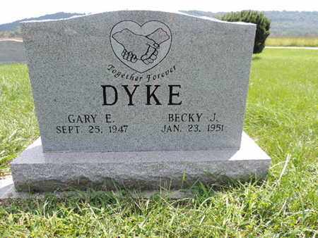 DYKE, GARY E - Ross County, Ohio | GARY E DYKE - Ohio Gravestone Photos