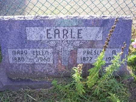 EARLE, PRESLIE M. - Ross County, Ohio | PRESLIE M. EARLE - Ohio Gravestone Photos