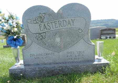 CAWLEY EASTERDAY, EVA JANE - Ross County, Ohio   EVA JANE CAWLEY EASTERDAY - Ohio Gravestone Photos