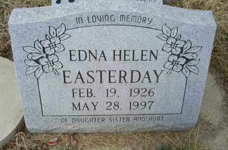 EASTERDAY, EDNA HELEN - Ross County, Ohio | EDNA HELEN EASTERDAY - Ohio Gravestone Photos