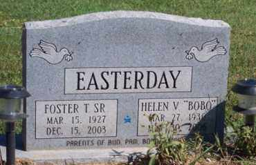 EASTERDAY, FOSTER T. SR. - Ross County, Ohio | FOSTER T. SR. EASTERDAY - Ohio Gravestone Photos