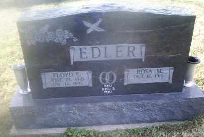 EDLER, FLOYD E. - Ross County, Ohio | FLOYD E. EDLER - Ohio Gravestone Photos