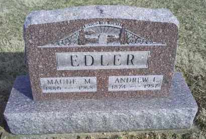 EDLER, ANDREW I. - Ross County, Ohio | ANDREW I. EDLER - Ohio Gravestone Photos