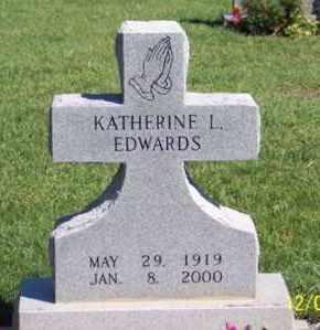 EDWARDS, KATHERINE L. - Ross County, Ohio | KATHERINE L. EDWARDS - Ohio Gravestone Photos