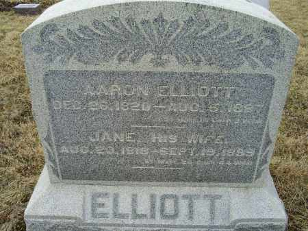 ELLIOTT, JANE - Ross County, Ohio | JANE ELLIOTT - Ohio Gravestone Photos