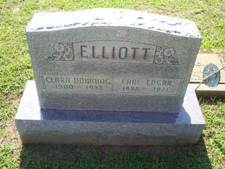 ELLIOTT, EARL EDGAR - Ross County, Ohio | EARL EDGAR ELLIOTT - Ohio Gravestone Photos
