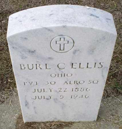 ELLIS, BURL C. - Ross County, Ohio | BURL C. ELLIS - Ohio Gravestone Photos