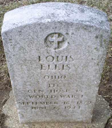 ELLIS, LOUIS - Ross County, Ohio   LOUIS ELLIS - Ohio Gravestone Photos