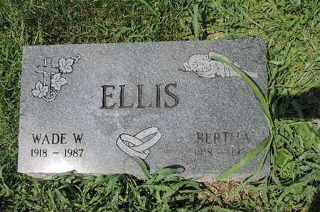 ELLIS, WADE W - Ross County, Ohio | WADE W ELLIS - Ohio Gravestone Photos