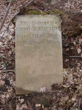 EMUICH, GEORGE - Ross County, Ohio | GEORGE EMUICH - Ohio Gravestone Photos