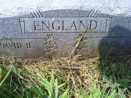 ENGLAND, SARA - Ross County, Ohio | SARA ENGLAND - Ohio Gravestone Photos
