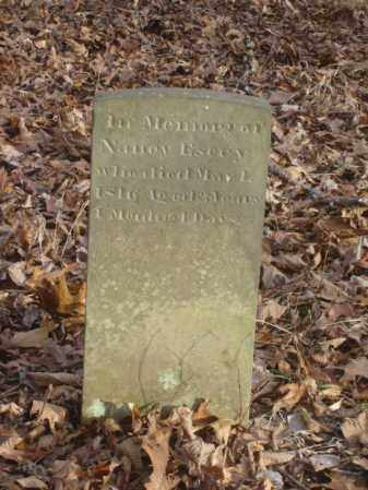 ESERY, NANCY - Ross County, Ohio | NANCY ESERY - Ohio Gravestone Photos