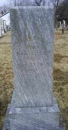 ESTELL, JONAS - Ross County, Ohio | JONAS ESTELL - Ohio Gravestone Photos