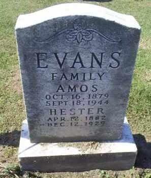 EVANS, AMOS - Ross County, Ohio   AMOS EVANS - Ohio Gravestone Photos